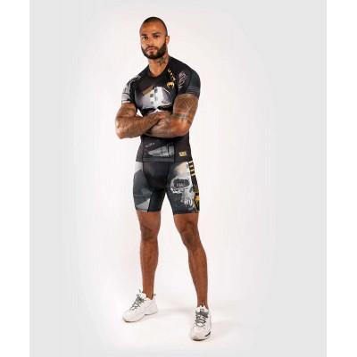 Компресійні шорти Venum Skull shorts Black (01954) фото 8