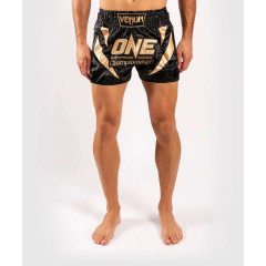 Шорты Venum ONE FC Muay Thai Shorts Black/Gold