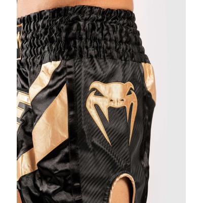 Шорты Venum ONE FC Muay Thai Shorts Black/Gold (01952) фото 6