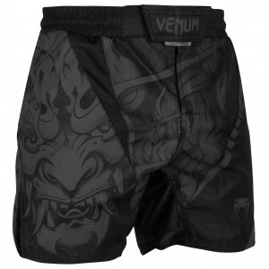 Шорты Venum Devil Fightshorts Black/Black