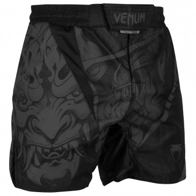 Шорты Venum Devil Fightshorts Black/Black (01993) фото 1