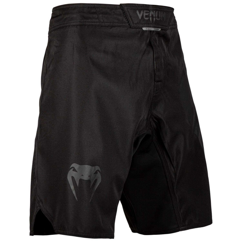 Шорты Venum Light 3.0 Fightshorts Black/Black (02011) фото 3
