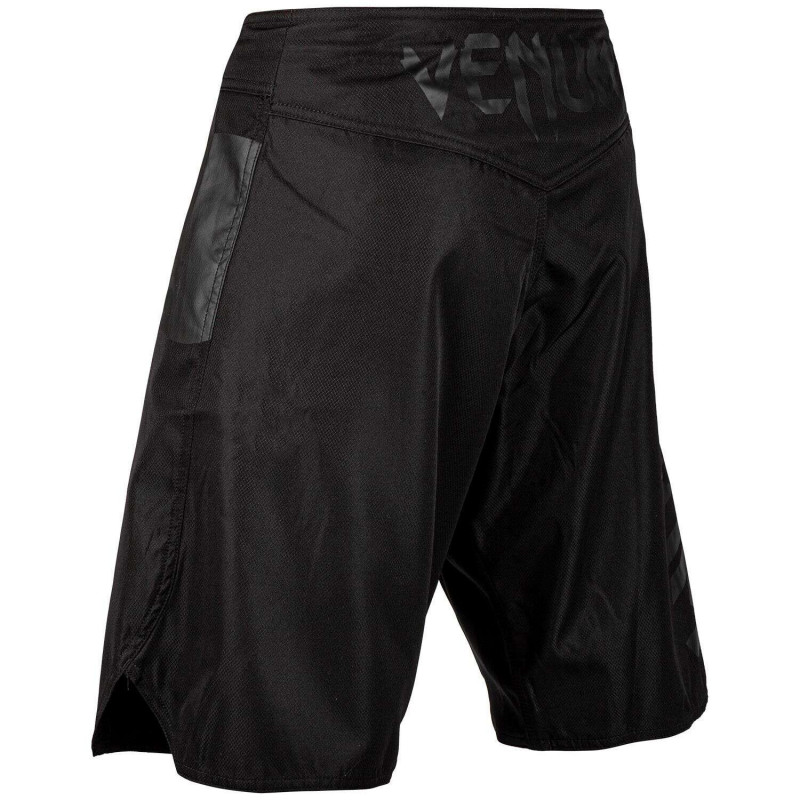 Шорты Venum Light 3.0 Fightshorts Black/Black (02011) фото 4