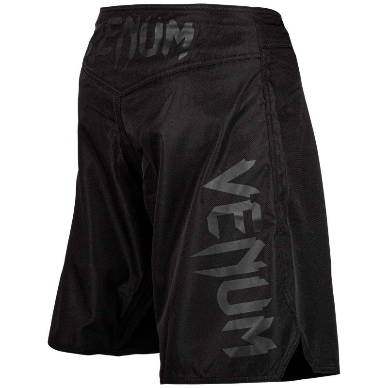 Шорты Venum Light 3.0 Fightshorts Black/Black (02011) фото 2