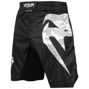 Шорты Venum Light 3.0 Fightshorts Black/White Camo