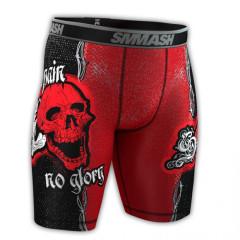 Компресионные шорты SMMASH SKULL
