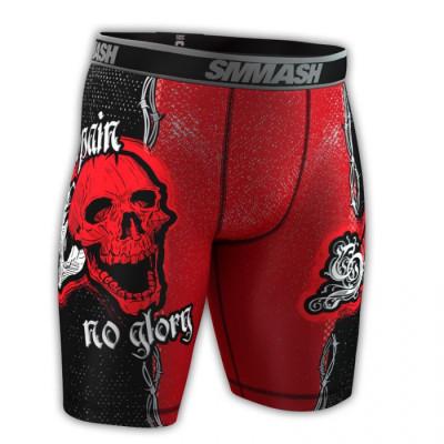Компресионные шорты SMMASH SKULL (00609)