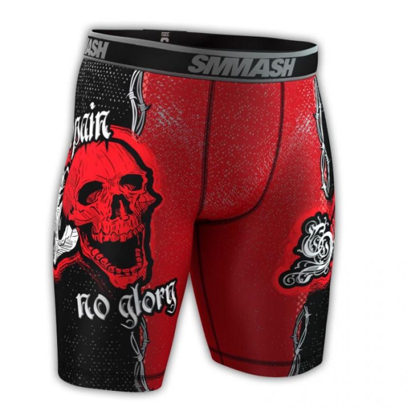 Компресионные шорты SMMASH SKULL (00609) фото 1