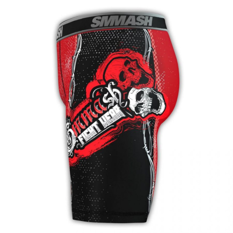 Компресионные шорты SMMASH SKULL (00609) фото 4