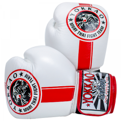 Перчатки YOKKAO FIGHT TEAM WHITE Boxing Gloves