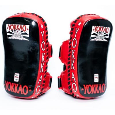 Пады YOKKAO Curved Muay Thai kicking pads (01651)