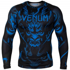 Рашгард Venum Devil Rashguard Long Sleeves N/Blue
