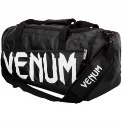 Сумка Venum Sparring Sport Bag Black White