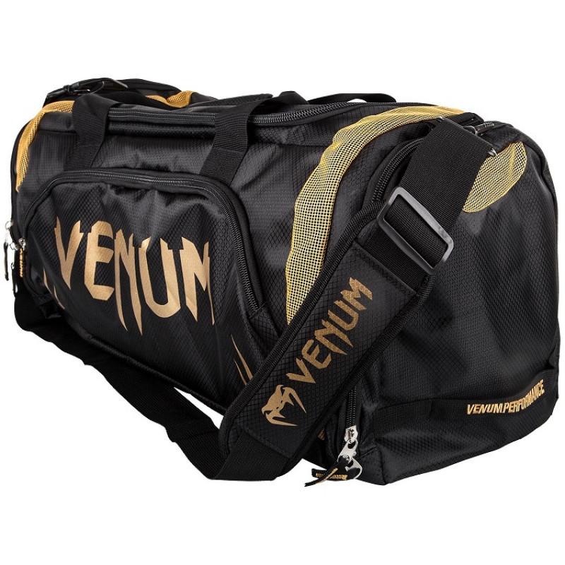 e7fc31178438 Сумка Venum Trainer Lite Sport Bag Black/Gold