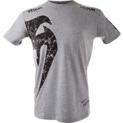 Футболка Venum Giant T-shirt Grey/Black