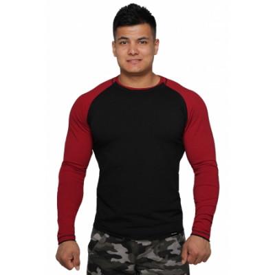 Реглан Long Sleeve BERSERK black/bord (01261)