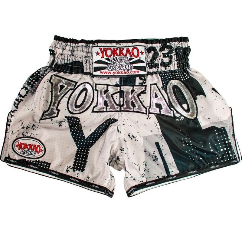 Шорти YOKKAO CarbonFit Urban White Shorts (01447) фото 1
