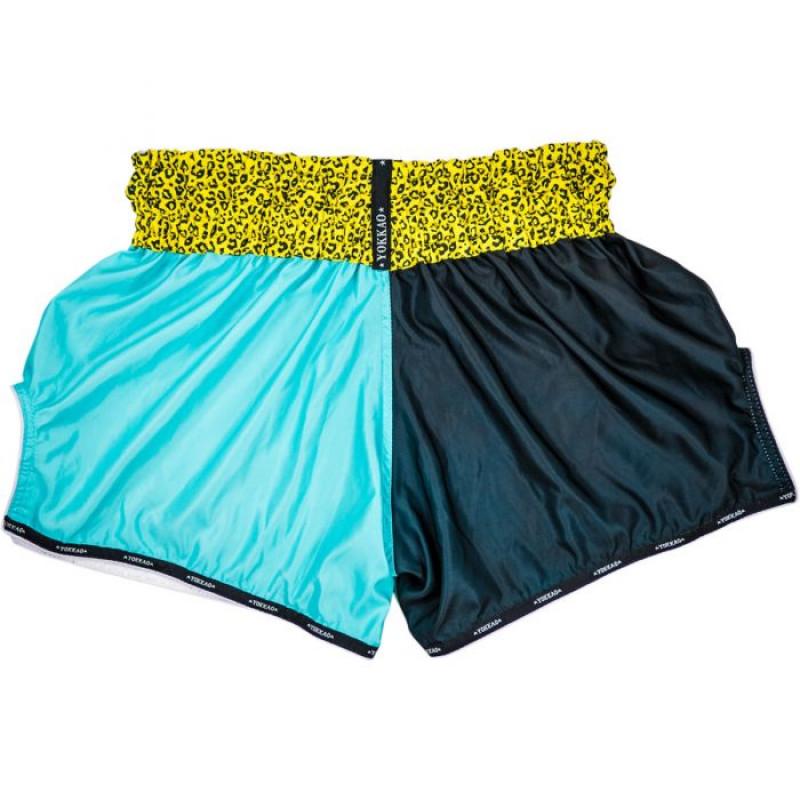 Шорты YOKKAO Apex Leopard Muay Thai shorts (01659) фото 2