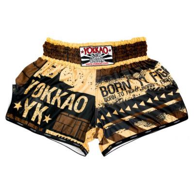 Шорты YOKKAO Hustle Muay Thai shorts (01663)