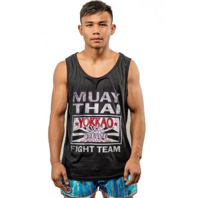 Майка YOKKAO Fight Team 2.0 Black (01450)