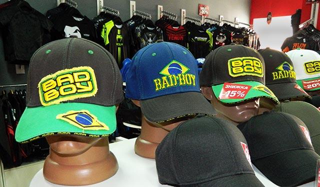 Бейсболки Bad Boy в магазине MMA Store