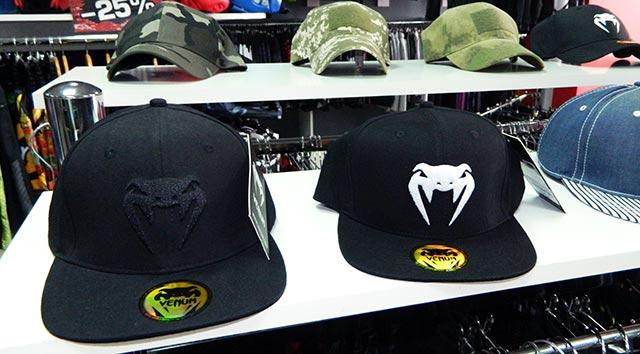 Бейсболки бренда VENUM в магазине MMA Store