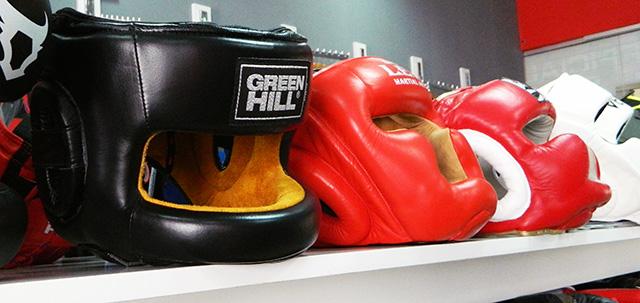 Боксерские шлема с бампером в MMA Store