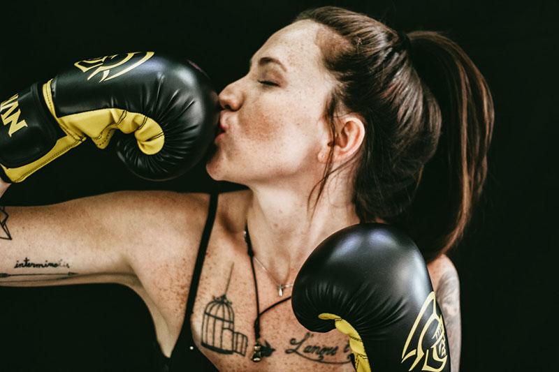 Любимые боксерские перчатки