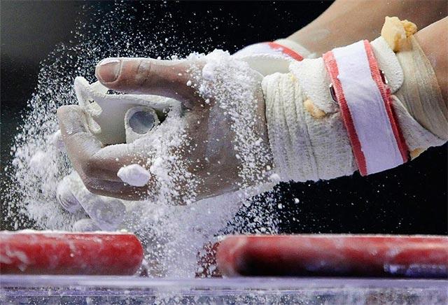 Использование спортивной магнезии